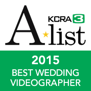 KCRA A+ List - Best Wedding Videographer 2015