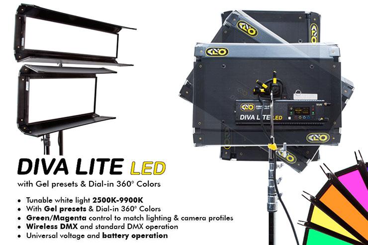 Kino Flo Diva-Lite LED 30 DMX